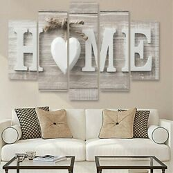 5Pcs Unframed Modern Wall Art Painting Print Canva Picture Home Room Decor New