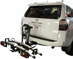 Sairs Door County Hitch Rack With Electric Lift - 2 Receiver, 7-pin Wire Plug,