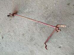 International Farmall Ih 1066 Tractor Throttle Linkage Control Rods To Handle