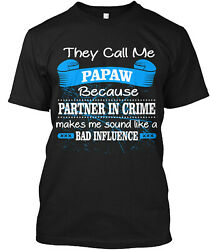 Teespring Papaw T Shirt Classic T Shirt 100% Cotton By Tee Lover