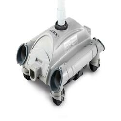 New Intex Automatic Above Ground Swimming Pool Vacuum Cleaner, 28001e Ships Free