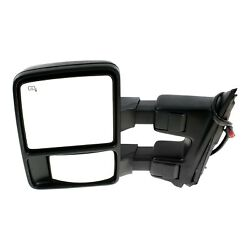 Tow Mirror For 2008 2009 Ford F-250 Super Duty Driver Left Side Power Fold Heat