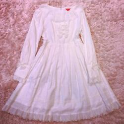 Baby Margaret Lace's All-white Dress