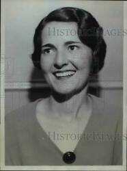 1934 Press Photo Mildred Smith As Queen Of Dental Charm With Her Perfect Smile