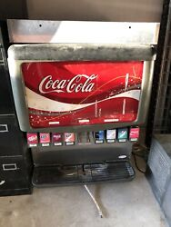 Lot 8 Soda Fountain Machine - Need This Sold
