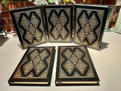 163/500 H. G. Wells Classics Of Science Fiction By - New 5vol Easton Press
