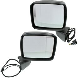 Power Mirror Set For 2002-2008 Mercedes Benz G500 Heated With Memory Paintable