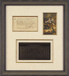 Connecticut Revolutionary War - Promissory Note Signed 02/18/1782 With Co-signer