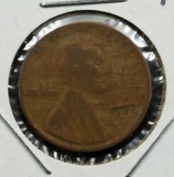 1929 P Lincoln Wheat Cent Penny Coin Laminated Planchet Error Variety Circ