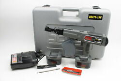 Senco Duraspin Ds278-18v 18v Collated Screw Gun And 2 Batteries And Charger