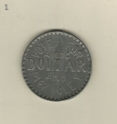 Vote For Mckinley Bryan 1896 One Dime 2 Campaign Political Token Medal Rare See
