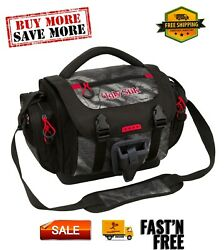 Fishing Tackle Bag With Four Medium Lure Box Storage Containers