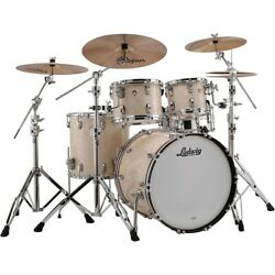 Ludwig Classic Maple 4-piece Mod Shell Pack W/22 Bass Drum Vintage Marine Pearl