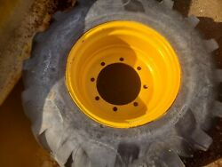 Armstrong 16.9 24 Industrial Tractor Tire On Rim