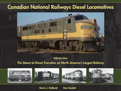 Canadian National Railways Diesel Locomotives Vol 1 Hardcover Book Out Of Print