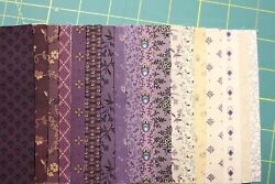36 Charm Pack 5 Squares Plumberry 100 Cotton Quilt Fabric By Marcus Fabrics