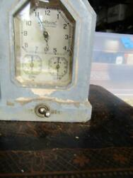 Hotpoint 1920 Automatic Range Timer Clock Vintage General Electric For Rehab Not