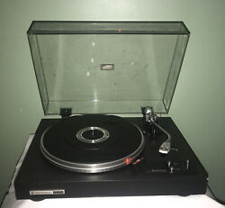 Vintage Kenwood Direct Drive Manual Turntable Kd-2070 Record Player Tested