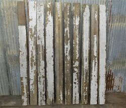 10 Reclaimed Wood Wainscoting Bead Board Architectural Salvage Vintage U