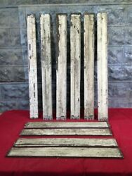 Reclaimed Wainscoting Bead Board Pieces Architectural Salvage Vintage A15
