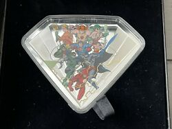 2018 100 Superman Shield Bronze Age Of Dc 10oz Silver Oz 32/750 Extremely Rare