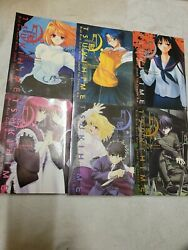 Fate Lunar Legends Tsukihime Eng Vols. 1-6 Rare Oop Melty Blood Great Condition