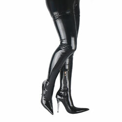 Womenandrsquos High Heel Over The Knee Thigh High Boots Pointy Toe Nightclub Long Boots