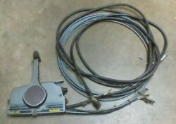 Suzuki Na12s Side Mount Outboard Control Remote W/ 18and039 Control Cables No Key