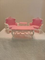 My Fancy Life Gloria, Barbie Size Doll Furniture/2317 Deluxe Living Rm-used