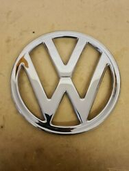 Vw Baywindow Front Badge Early Bay T2 68-72 Polished Stainless Steel. Bus