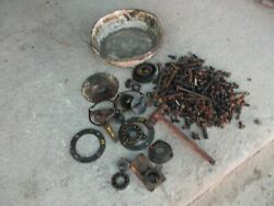 Farmall H Ih Tractor Bolts Nuts Parts Pieces Gear Cultivator Bracket Bearing