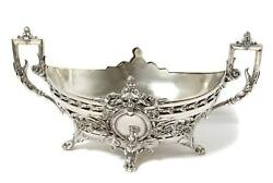 Silver Jardiniere With Silver-plated Metal Insert. Sweden K. Anderson 1898.