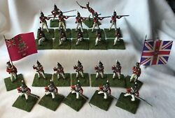 Airfix Napoleonic 3rd Foot Guards X 24 Figures 54mm Scale Plastic.