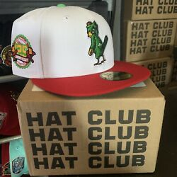 """Hat Club Exclusive 7 3/8 Cereal Pack Cardinals """"corn Flakes"""" Inspired In Hand"""