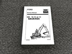 Ford New Holland 750 753 755 Backhoe On 3500 4500 Tractor Service Repair Manual