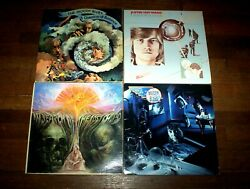 The Moody Blues 4 Lp Lot Question / Lost Chord / Justin Solo / Other Side