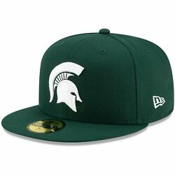 Michigan State Spartans New Era Primary Team Logo Basic 59fifty Fitted Hat -