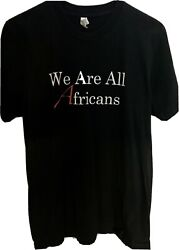 Richard Dawkins Atheist Out Campaign We Are All Africans T-shirt Super Rare