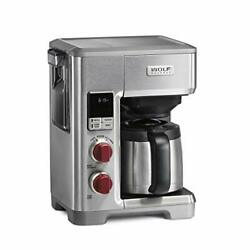 Wolf Gourmet Programmable Coffee Maker System With 10 Cup Thermal Carafe Buil...