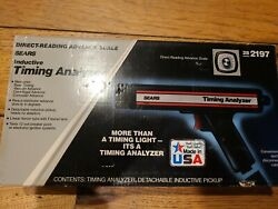 Vintage New In Box Sears Craftsman Inductive Timing Light 28 2197 Usa