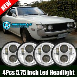 4pcs 5-3/4 5.75 Led Projector Headlights Drl Fit Toyota Celica 1972-1979 Us