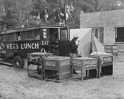 Soda Chest Coolers Barqs, Pepper, Coke Classic 8 By 10 Reprint Photograph