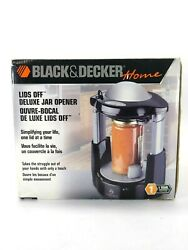 Black And Decker Lids Off Deluxe Jar Opener Automatic Jw275 New In Box