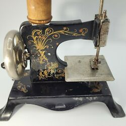 Vintage Casige Eagle Black Miniture/childs Sewing Machine Made In Germany