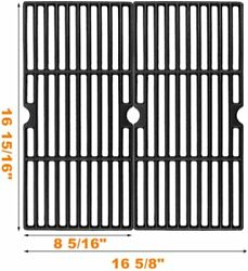Cast Iron Grill Cooking Grids, 2 Pack15/16 Cooking Grates For Charbroil 4632502