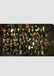 Lot Of 70 Plus Lego Minifigures...star Wars,minjago,hunger Games And Many More