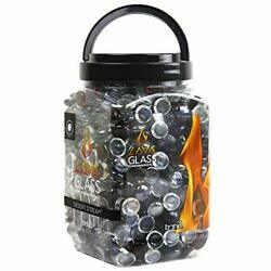 Bond Manufacturing 50722 Round Fire Pit Craft Glass Gems Multicolor Clear And...