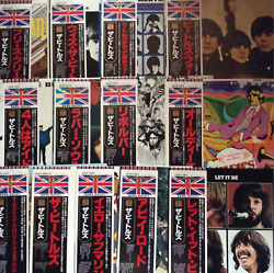 Excellent The Beatles 30th Anniversary 13 Lots Of Records With Obi F/s Japan