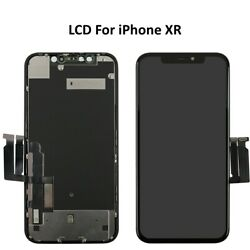 For Apple Iphone Xr Lcd Screen Assembly 3d Touch Digitizer Retina Replacement