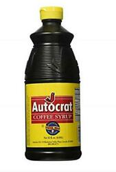 Autocrat Coffee Syrup 32 Assorted Weights